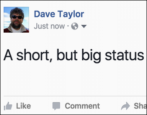secret of bigger text font facebook fb status update