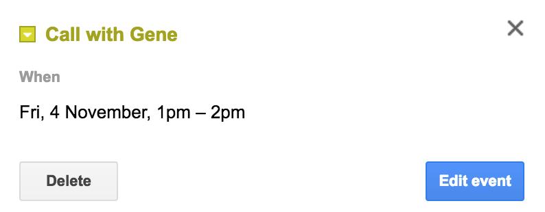 event details in google calendar