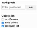 how to invite guests attendees meeting event google calendar gcal