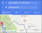 send directions from google maps to apple iphone driving