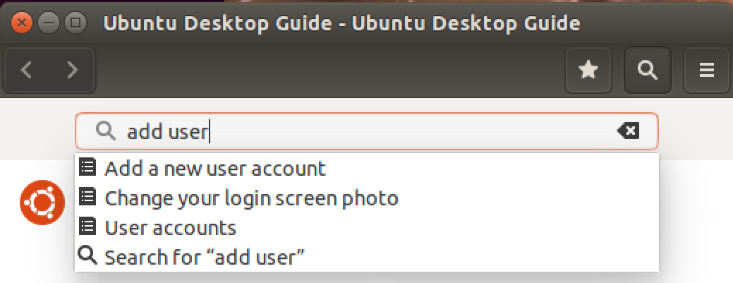 ubuntu help 'add user'