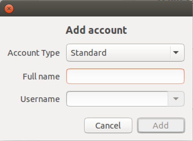 add new user account, ubuntu linux unix