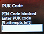 what is a puk code pin unlock smart cell mobile phone