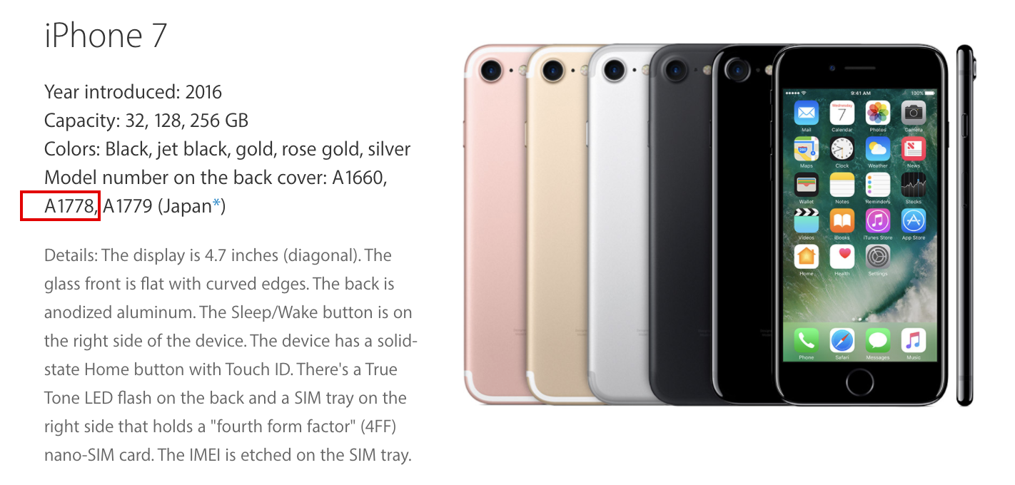 How To Identify Iphone Model >> How Do I Figure Out What Iphone Model I Have Ask Dave Taylor
