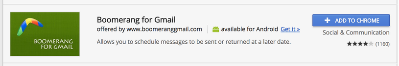 install boomerang for gmail