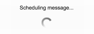 gmail message queued up