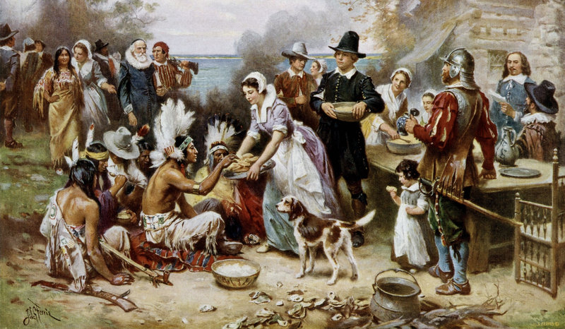 Jean Ferris, The First Thanksgiving, 1621