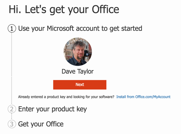 enter product key renew office 365