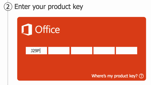 enter free download microsoft office 365 product key license