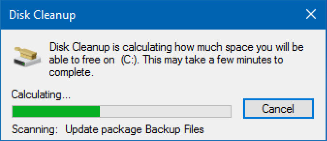 disk space analysing analyzing disk usage windows 10 win10