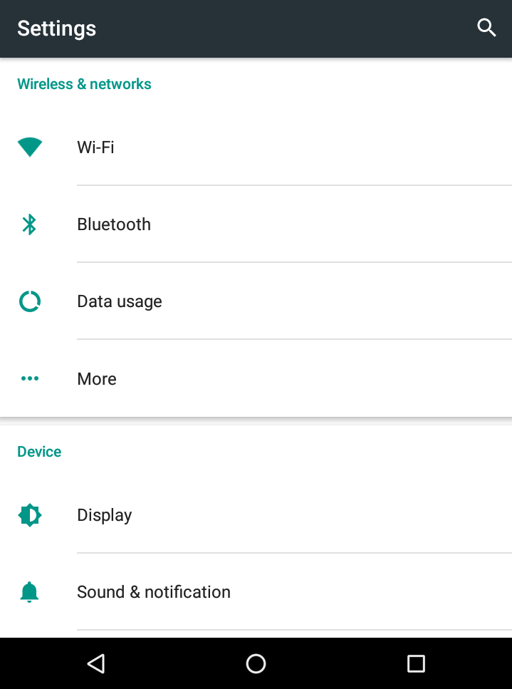 android wifi hotspot tethering - settings