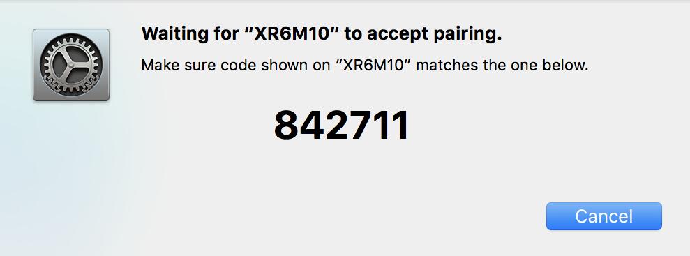 pairing code, bluetooth. mac