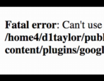 fix fatal wordpress error can't log in disable plugin