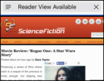 what is reader view available ios iphone ipad safari web browser