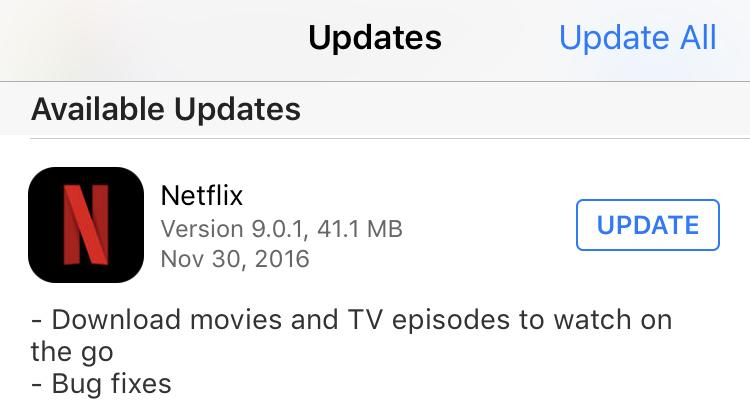 download netflix app update, downloading
