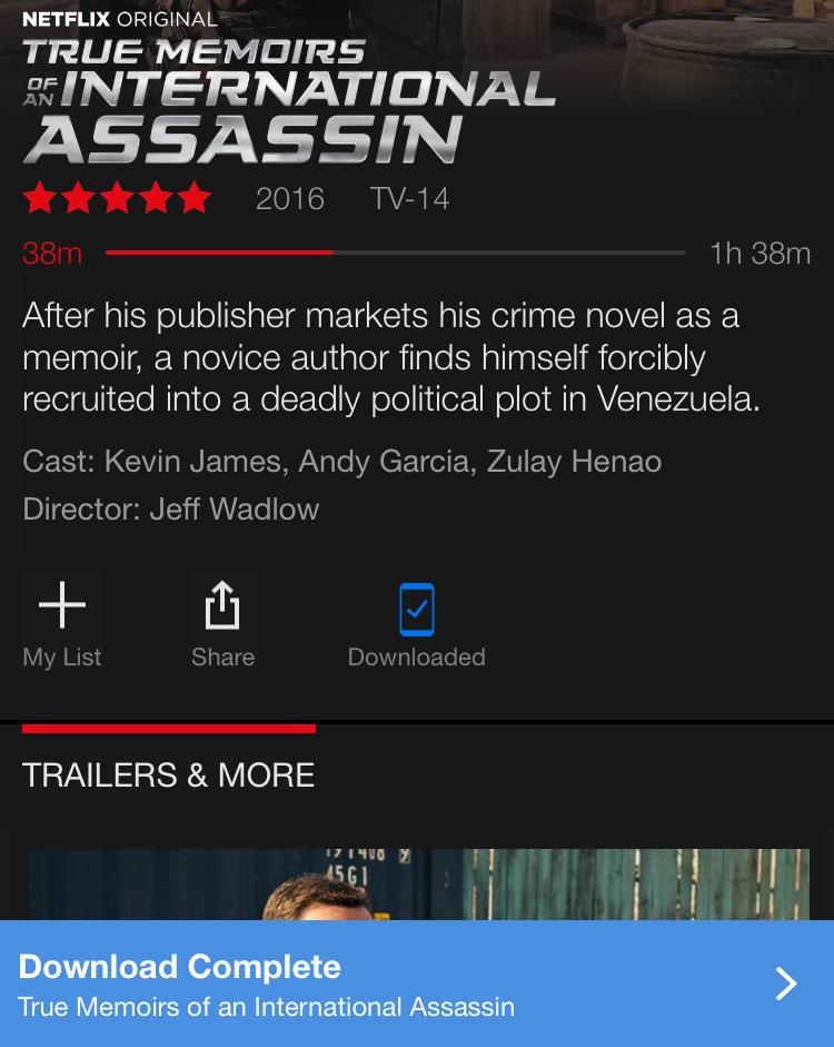 video movie tv content downloaded netflix