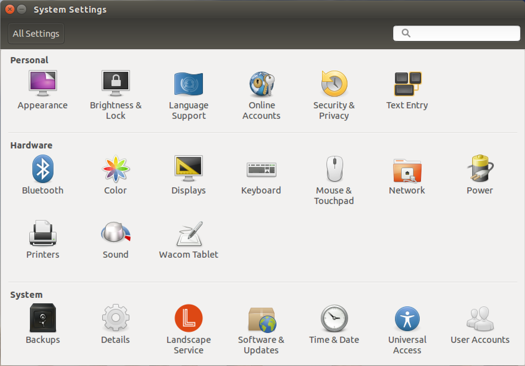 ubuntu linux 15 system settings preferences customization