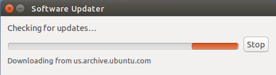 ubuntu linux checking for app program system software updates
