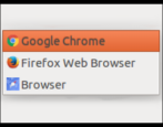 set change default web browser firefox chrome ubuntu linux
