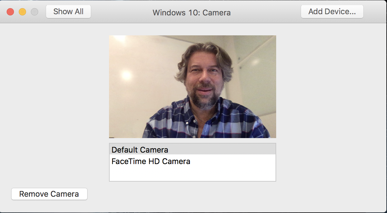pick a camera to add to your vmware fusion parallels virtual machine
