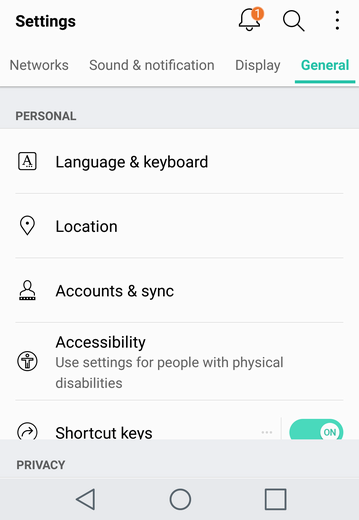 add fingerprint unlock android lg v20