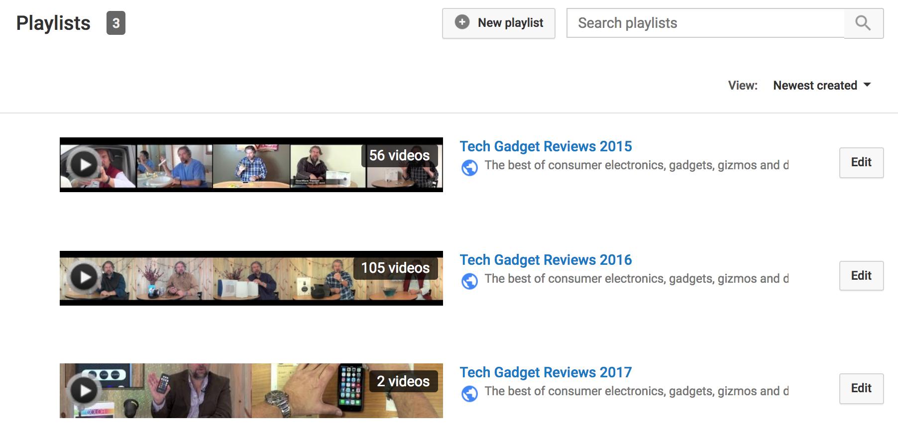askdavetaylor youtube channel playlists