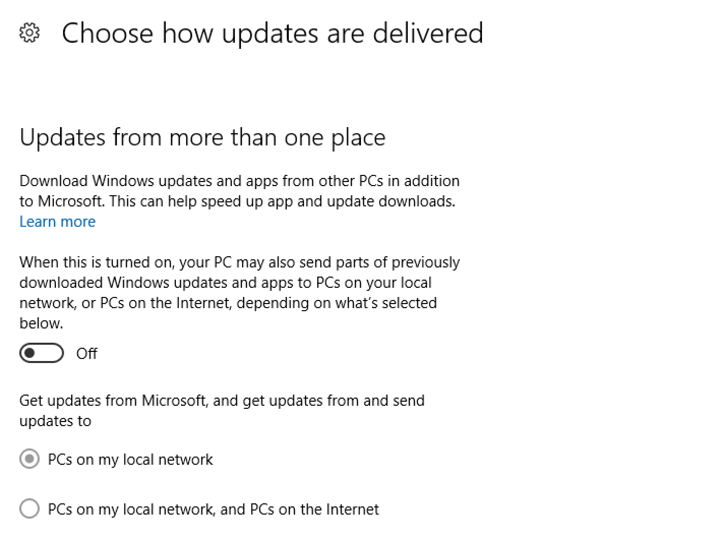 Stop windows 10 interrupting you for updates ask dave taylor how updates are delivered win10 baditri Choice Image