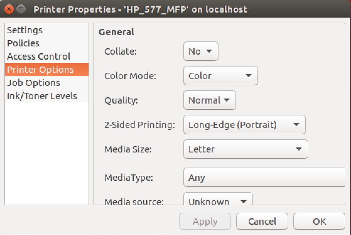 Add A Network Printer To Ubuntu Linux