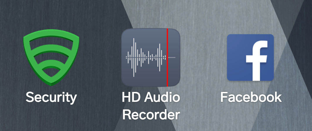 android lg hd audio recorder app