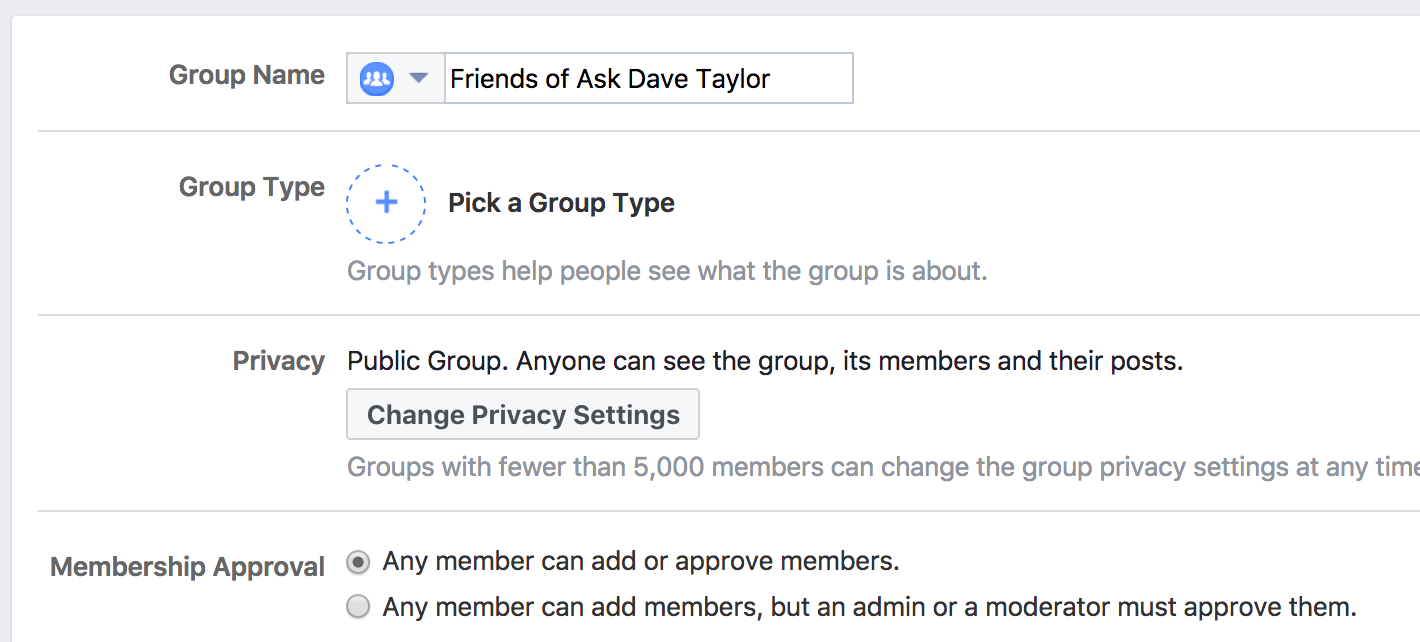 change facebook group name title icon emoji