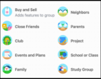 how to change facebook group name settings icon privacy