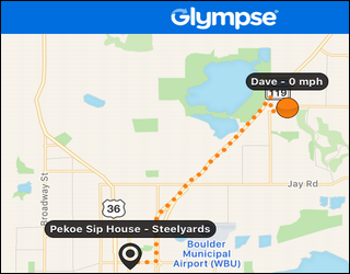 Share My Driving Route and Progress with Glympse? - Ask Dave ... on map my drives, map my name, plan my route, mapping a route, map my distance, map out a route trip, map my city, map my place, map my run, chart my route, map my state, map sf 5k route, map my trip, map of my land,
