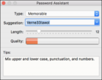 macos mac password assistant - pick good passwords
