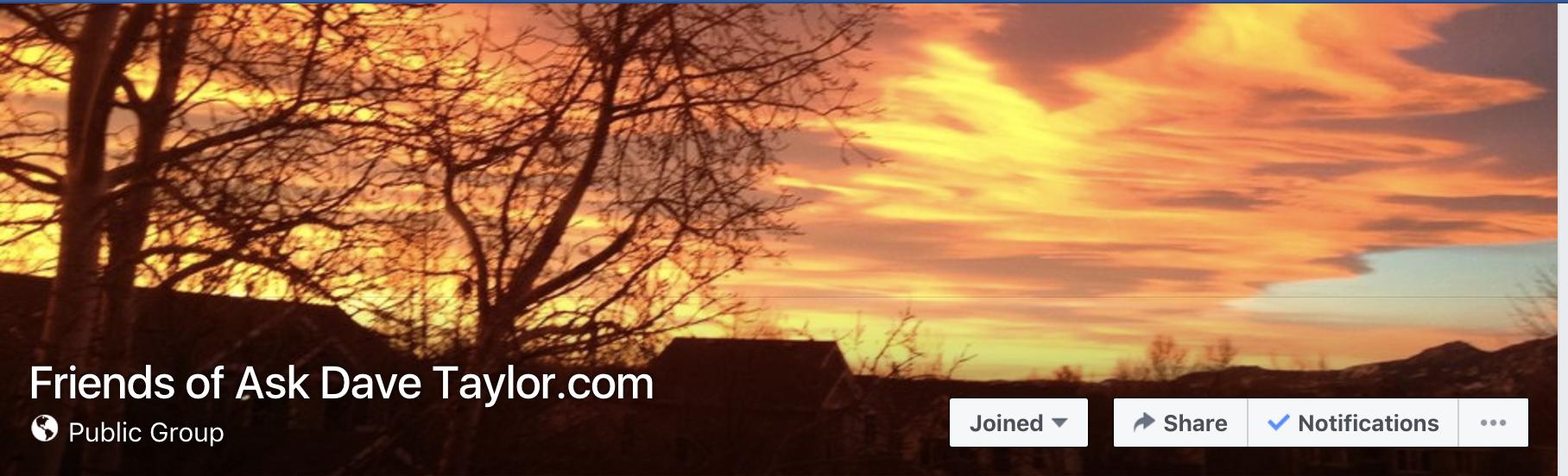 facebook group image - sunrise