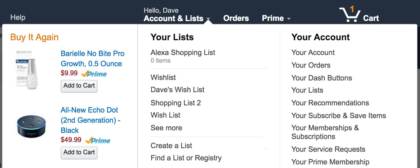 Amazon Celebrity Wishlists - gawker.com