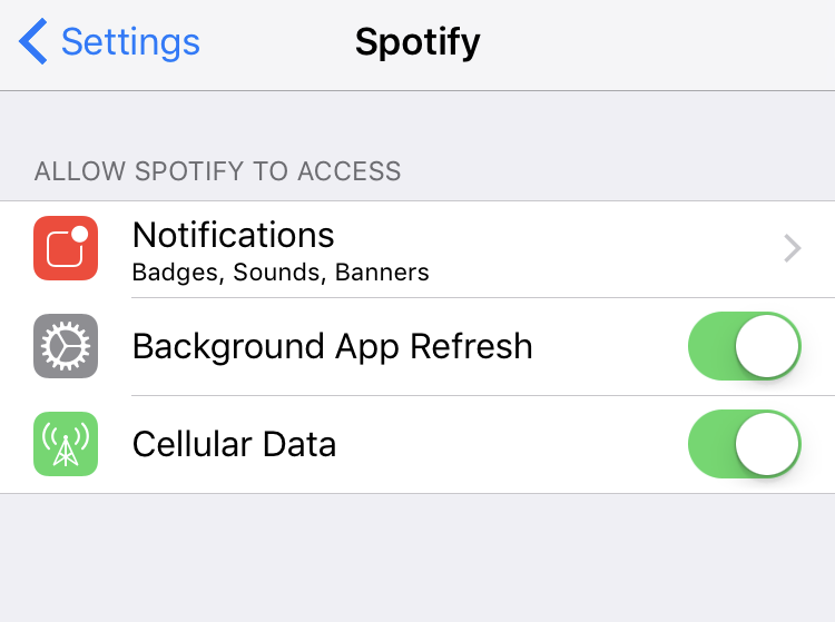 how to download on spotify with 4g