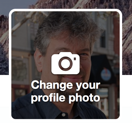 change your twitter profile photo