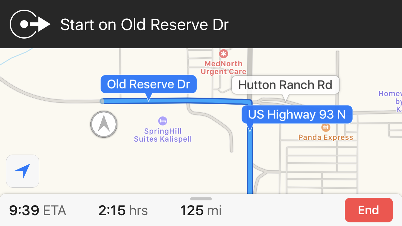 Driving Directions Without Map on