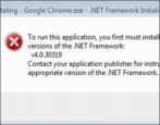 beware betaling google chrome net framework malware virus credit card stealer