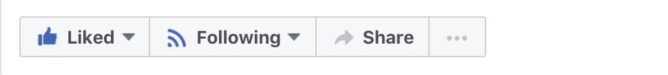 button strip, facebook business page