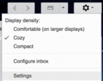gmail enable turn on text snippets preview email