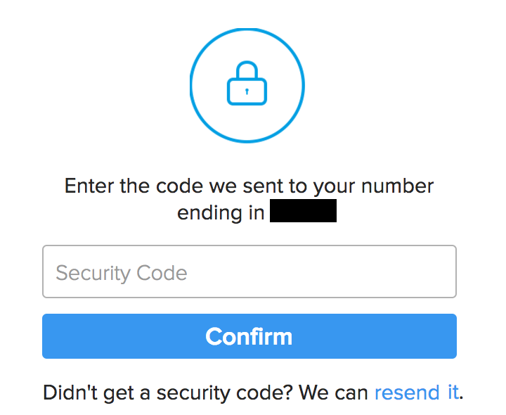 enter two-factor authentication code, instagram login