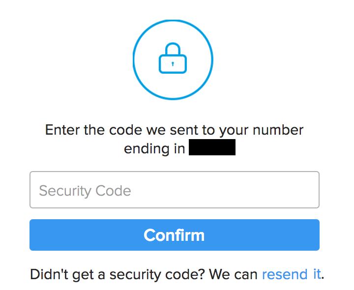 enter two-factor authentication code, instagram login
