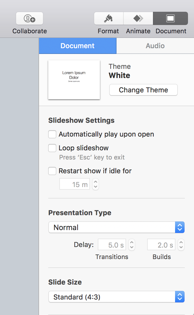 Convert Keynote slides to 16:9 widescreen format? - Ask Dave Taylor