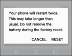 how to factory reset lg v20 android smartphone phone