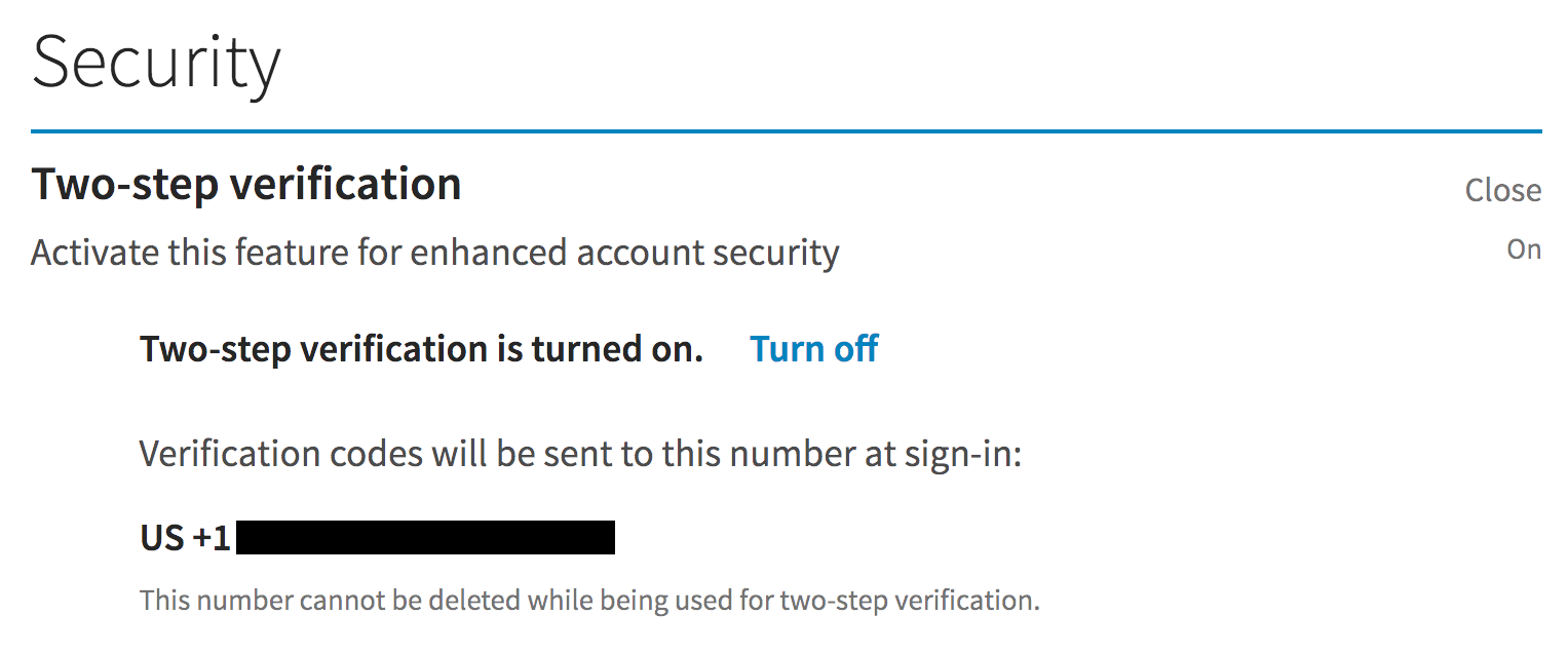 linkedin enable two-step verification