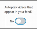 stop prevent disable linkedin autoplay videos newsfeed