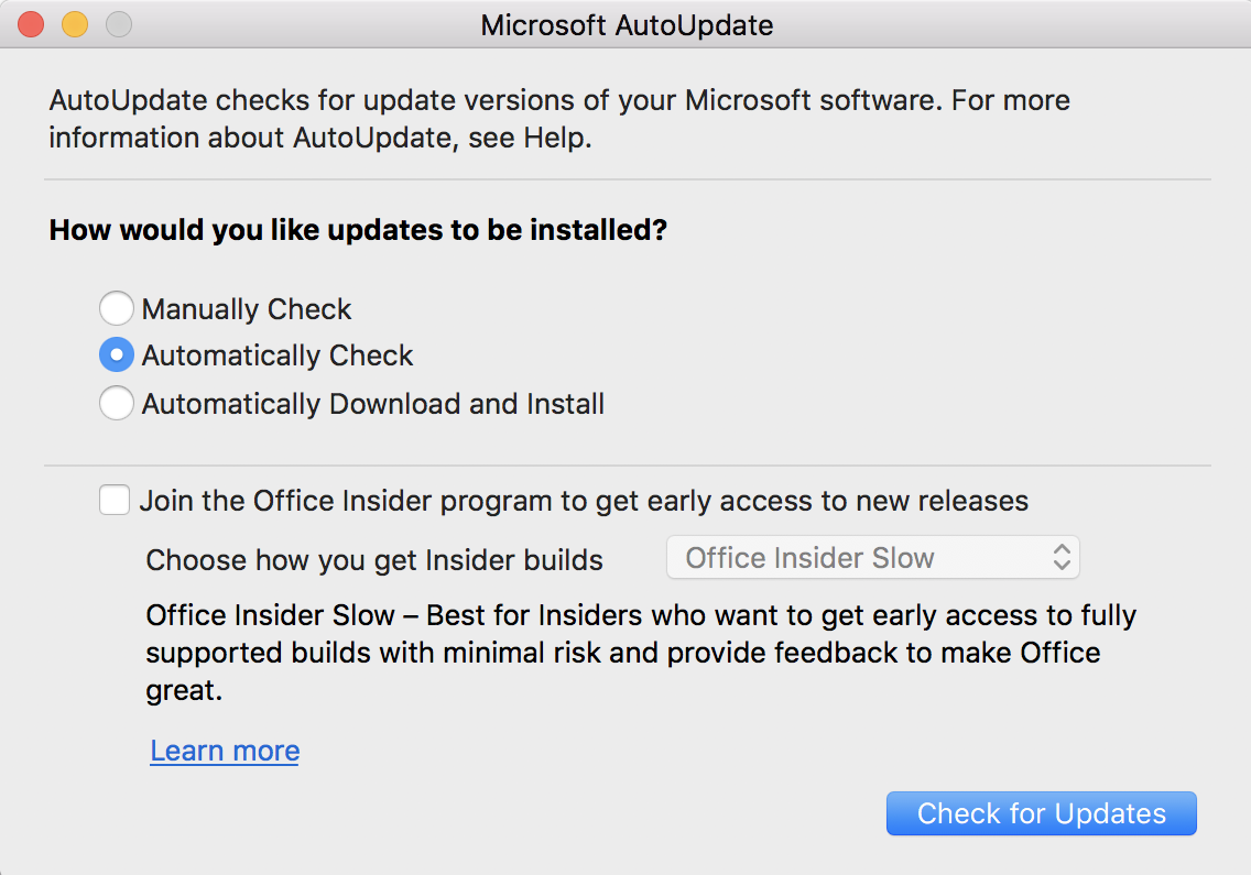 How to Update and Patch Microsoft Word for Mac? - Ask Dave