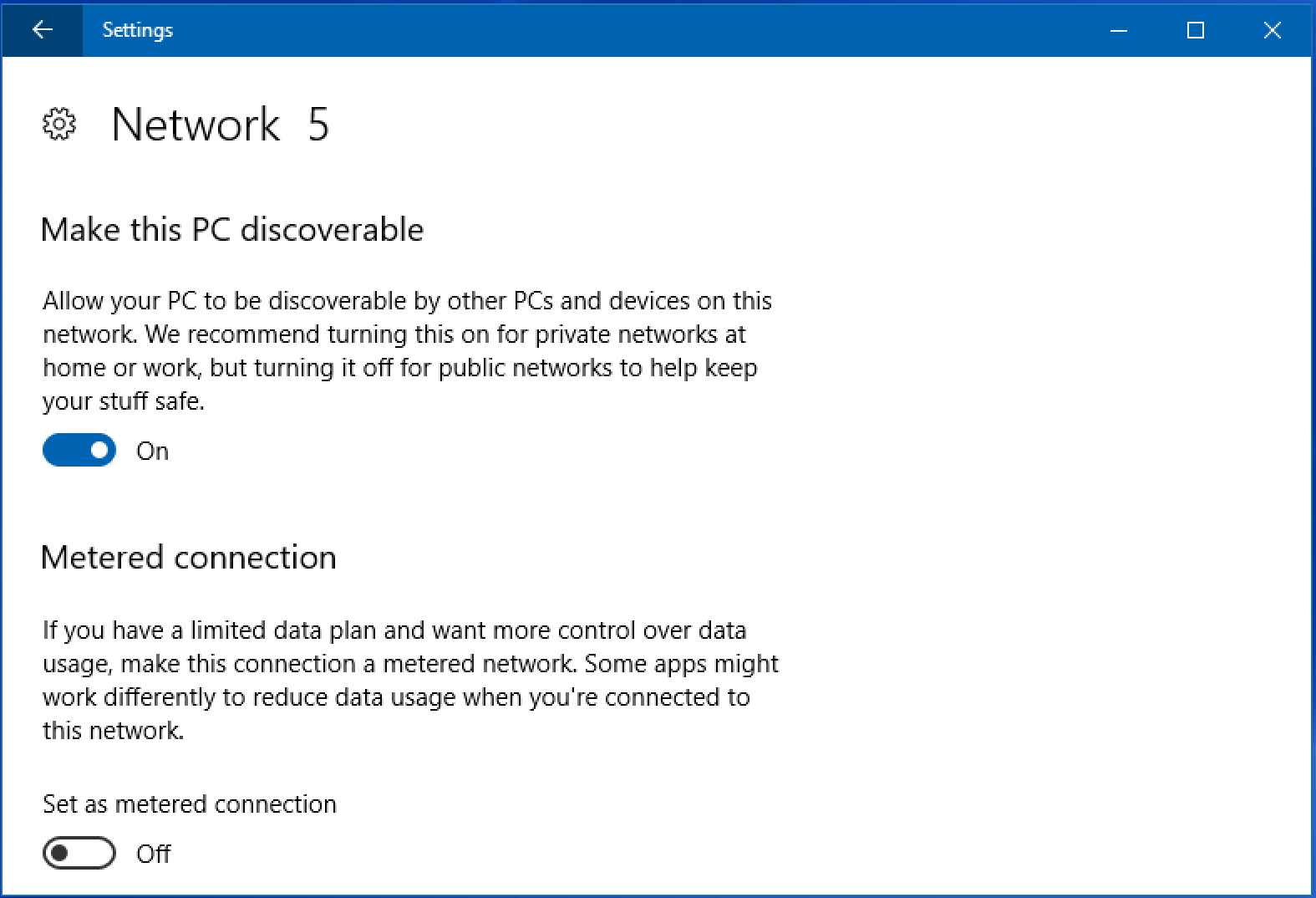win10 network connection properties
