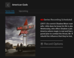 how to record american gods tv series comcast xfinity dvr starz